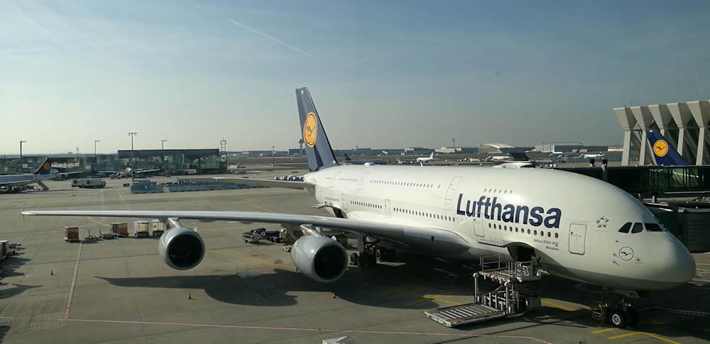 Flugrouten Karte Weltweit Lufthansa.Mit Dem A380 Von Munchen Nach Miami